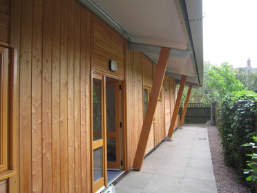Wood Cladding New Build